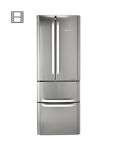 hotpoint-ffu4dx1-american-style-70cm-widenbspfrost-free-fridge-freezernbsp--stainless-steel