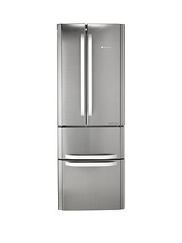 Hotpoint Ffu4Dx American Style 70Cm Frost Free Fridge Freezer  Stainless SteelA Energy Rating