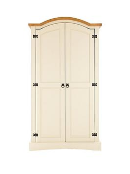 corona-painted-2-door-wardrobe
