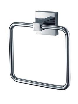 Aqualux Aqualux Haceka Mezzo Bathroom Towel Rail Picture