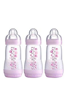 mam-anti-colic-260-ml-baby-bottles-3-pack
