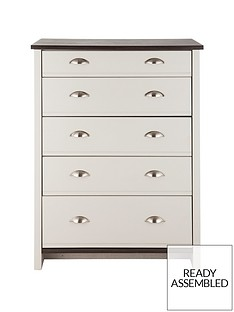 consort-tivoli-ready-assembled-graduated-chest-of-5-drawers
