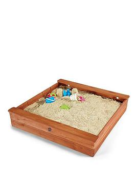 plum-square-wooden-sand-pit