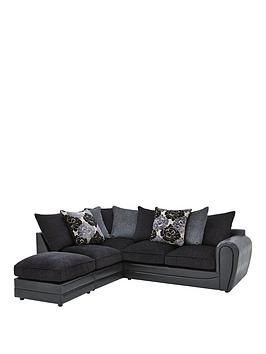 Very Monico Left Hand Single Arm Scatter Back Corner Chaise Sofa +  ... Picture