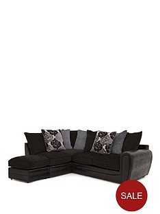 monico-floral-left-hand-single-arm-corner-chaise-sofa-with-footstool