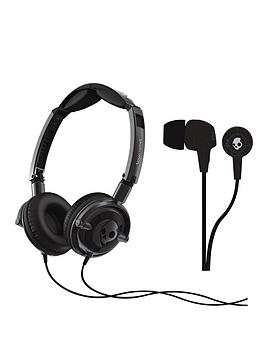 skullcandy-lowrider-headphones-with-free-in-ear-headphones-black