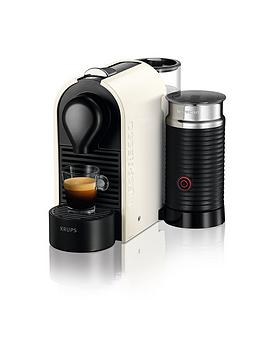 Nespresso U And Milk Xn260140 Coffee Machine By Krups  Cream