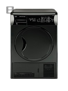 beko-dcu7230b-7kg-sensor-condenser-dryer-next-day-delivery-black