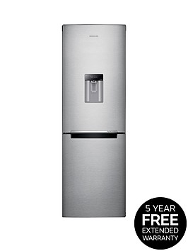 samsung-rb29fwrndsaeu-60cm-frost-free-fridge-freezer-with-digital-inverter-technology-next-day-delivery-silver