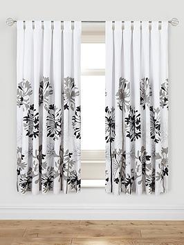 Agapanthus Tab Top Curtains