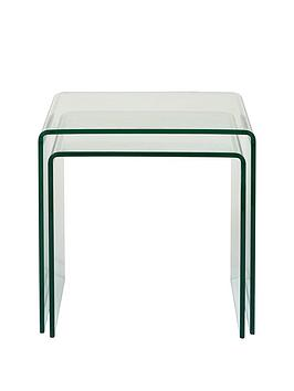 Very Glass Nest Of Tables Picture