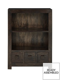 luxe-collection-dakota-ready-assembled-small-bookcase