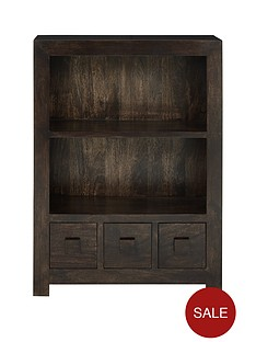 Luxe Collection Dakota Ready Embled Small Bookcase