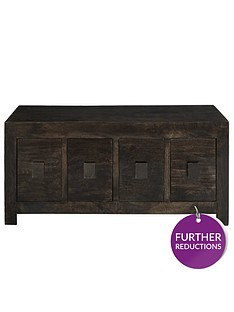 luxe-collection-dakota-mango-wood-ready-assembled-8-drawer-coffee-table