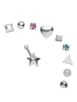 The Love Silver Collection The Love Silver Collection Sterling Silver Nose  ... Picture