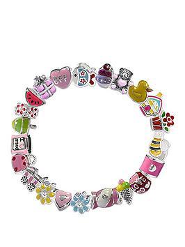 miss-rhona-childrens-enamel-stretch-charm-bracelet