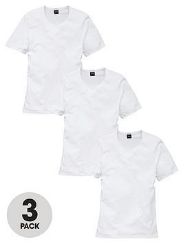 Boss   Bodywear Core 3 Pack T-Shirts - White