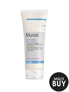 murad-anti-ageing-time-release-blemish-cleanser-200mlnbspamp-free-murad-peel-polish-amp-plump-gift-set