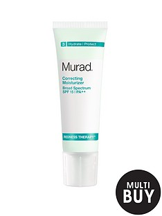 murad-free-gift-redness-therapy-correcting-moisturizer-spf-15-50mlnbspamp-free-murad-age-reform-exfoliating-cleanser-200ml