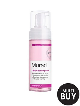 murad-pore-reform-daily-cleansing-foam-150ml-amp-free-murad-hydrating-heroes-set