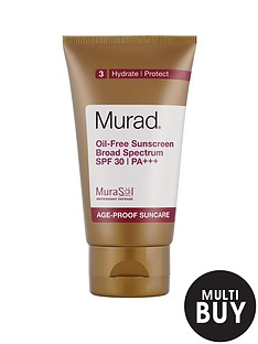 murad-free-gift-oil-free-sunscreen-broad-spectrum-spf-30-pa-50mlnbspamp-free-murad-skincare-set-worth-over-pound55