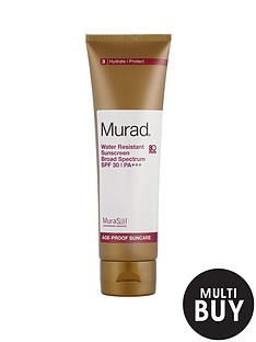 murad-free-gift-water-resistant-sunscreen-broad-spectrum-spf-30--nbsp125mlnbspamp-free-murad-skincare-set-worth-over-pound55