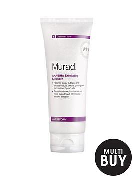 murad-age-reform-ahabha-exfoliating-cleanser-200ml-amp-free-murad-prep-amp-perfect-gift-setnbsp