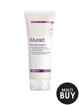 murad-age-reform-refreshing-cleanser-200ml-amp-free-murad-hydrating-heroes-set