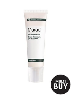 murad-man-face-defenseregnbspspf-15nbspamp-free-murad-peel-polish-amp-plump-gift-set