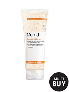 murad-environmental-shield-essential-c-cleanser-200mlnbspamp-free-murad-peel-polish-amp-plump-gift-set