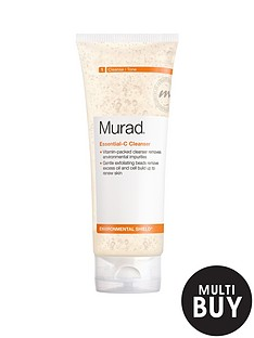 murad-free-gift-environmental-shield-essential-c-cleanser-200mlnbspamp-free-murad-age-reform-exfoliating-cleanser-200ml
