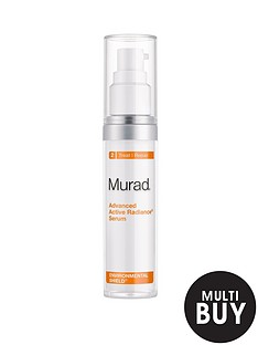 murad-environmental-shield-advanced-active-radiance-serum-30mlnbspamp-free-murad-peel-polish-amp-plump-gift-set