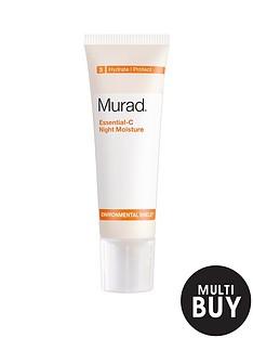 murad-free-gift-environmental-shield-essential-c-night-moisture-50mlnbspamp-free-murad-age-reform-exfoliating-cleanser-200ml