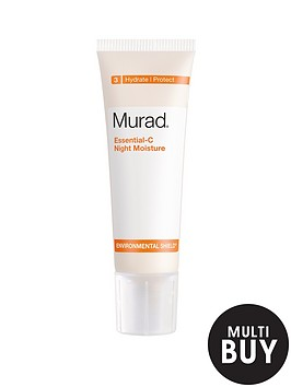 murad-free-gift-environmental-shield-essential-c-night-moisture-50mlnbspamp-free-murad-skincare-set-worth-over-pound55