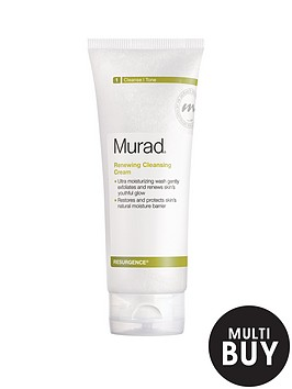 murad-resurgence-renewing-cleansing-cream-200mlnbspamp-free-murad-peel-polish-amp-plump-gift-set
