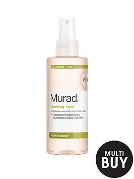 murad-free-gift-hydrating-toner-200mlnbspamp-free-murad-skincare-set-worth-over-pound55nbsp