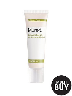 murad-free-gift-resurgence-rejuvenating-lift-for-neck-and-decollete-50mlnbspamp-free-murad-age-reform-exfoliating-cleanser-200ml