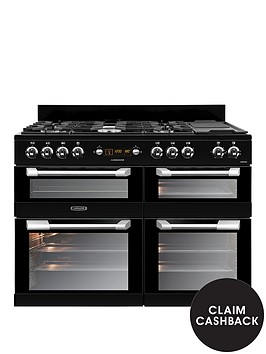 leisure-cs110f722k-cuisinemaster-110cm-dual-fuel-range-cooker-blacknbsp