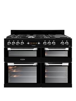 Leisure Cs110F722K Cuisinemaster 110Cm Dual Fuel Range Cooker  Black