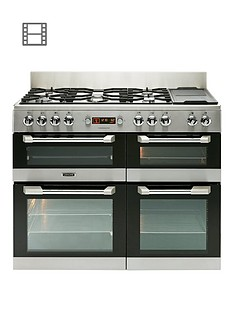 leisure-cs110f722x-cuisinemaster-110cm-dual-fuel-range-cooker-stainless-steel