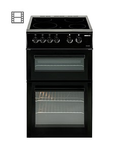 beko-bdvc563ak-50cm-double-oven-electric-cooker-blacknbsp