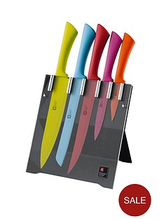 richardson-sheffield-love-colour-5-piece-knife-block