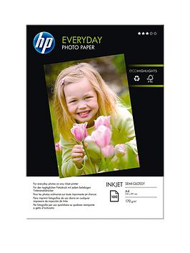 HP  Hp Everyday Glossy Photo Paper - 100 Sheet / A4/210 X 297 Mm (Q2510A)