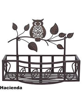 la-hacienda-owl-wall-planter