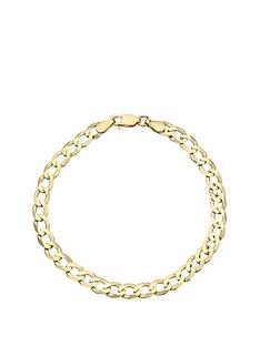 love-gold-9-carat-yellow-gold-solid-diamond-cut-8-inch-curb-bracelet