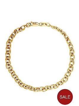 love-gold-9-carat-yellow-gold-double-link-fancy-bracelet