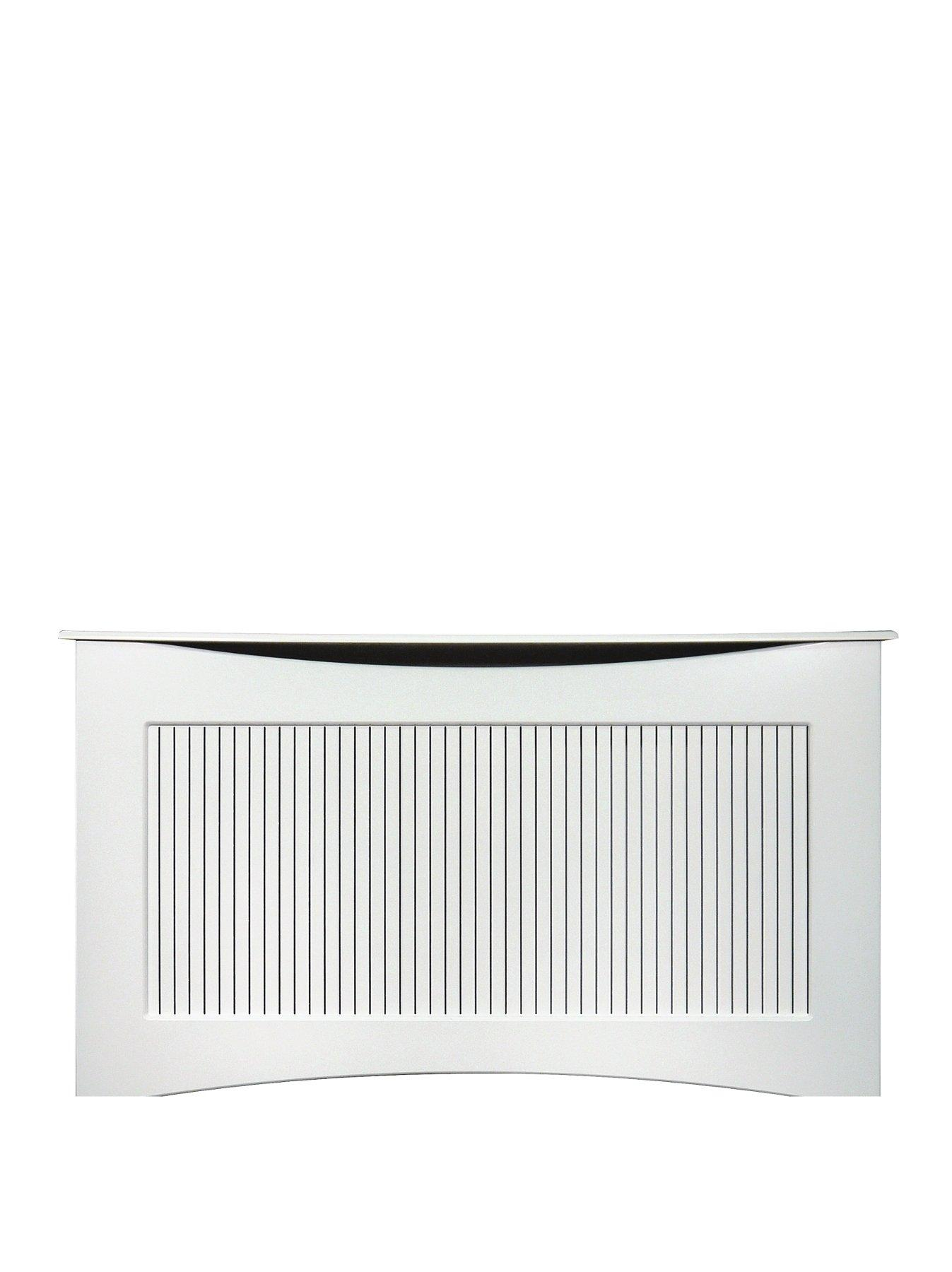 Compare prices for Adam Fire Surrounds 160Cm White Satin Radiator Cover