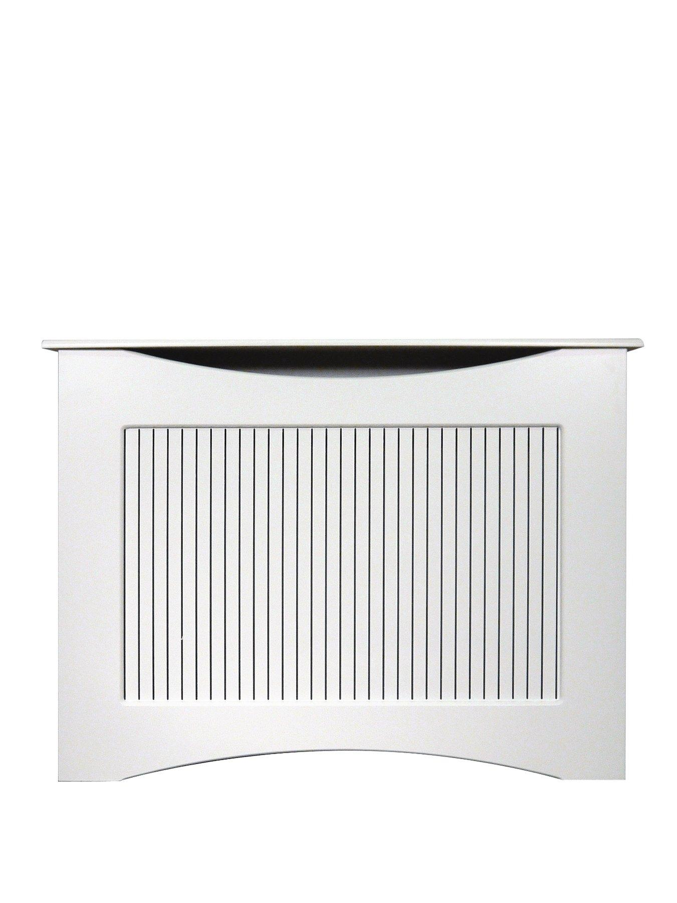 Compare prices for Adam Fire Surrounds 120Cm White Satin Radiator Cover