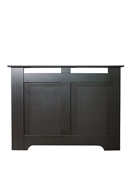 adam-fire-surrounds-160cm-black-textured-radiator-cover