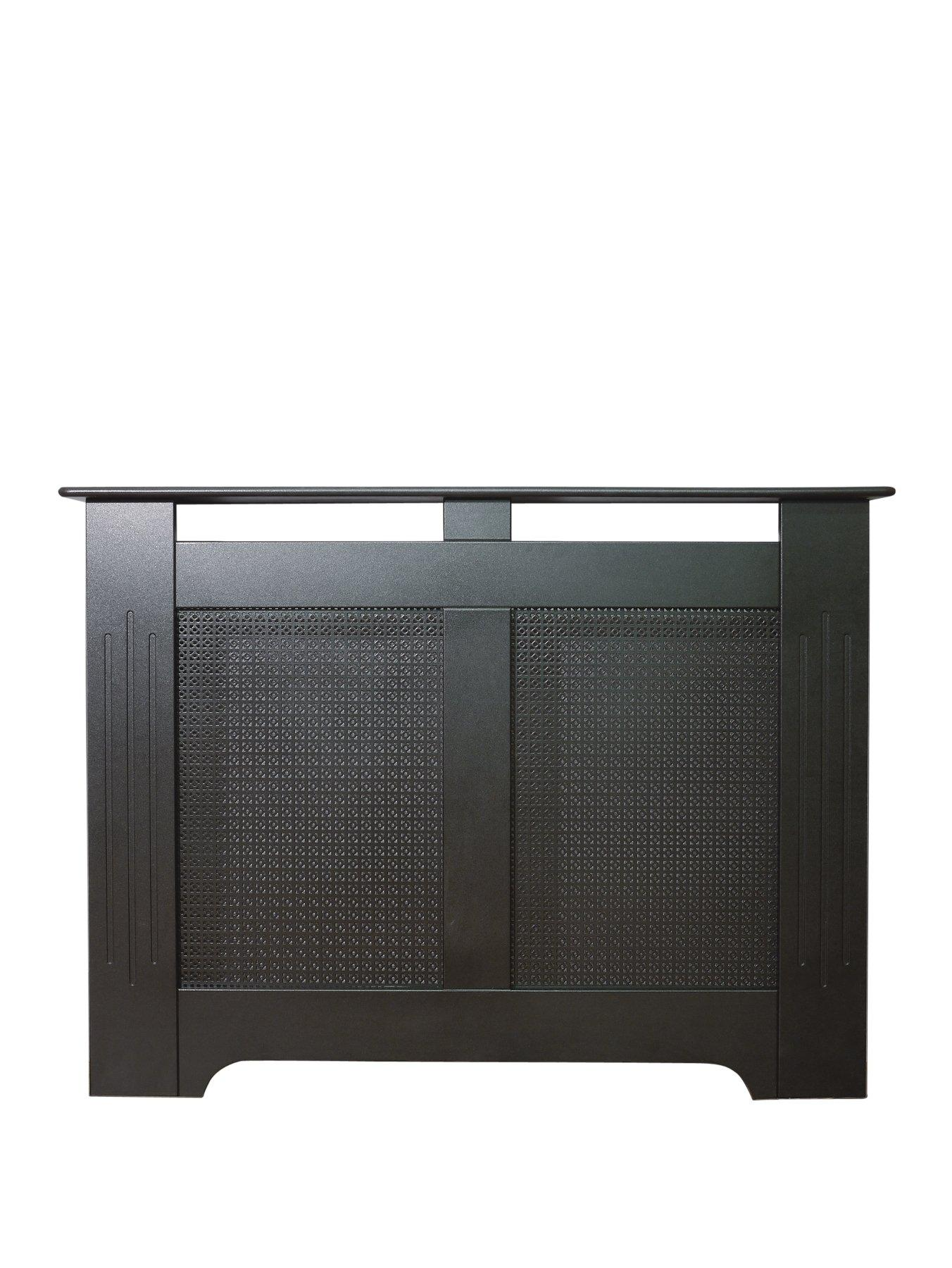 Compare prices for Adam Fire Surrounds 120Cm Black Textured Radiator Cover